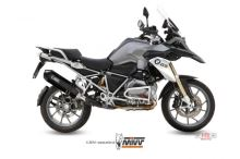 Koncovka výfuku R1200GS LC MIVV Speed edge , Steel Black